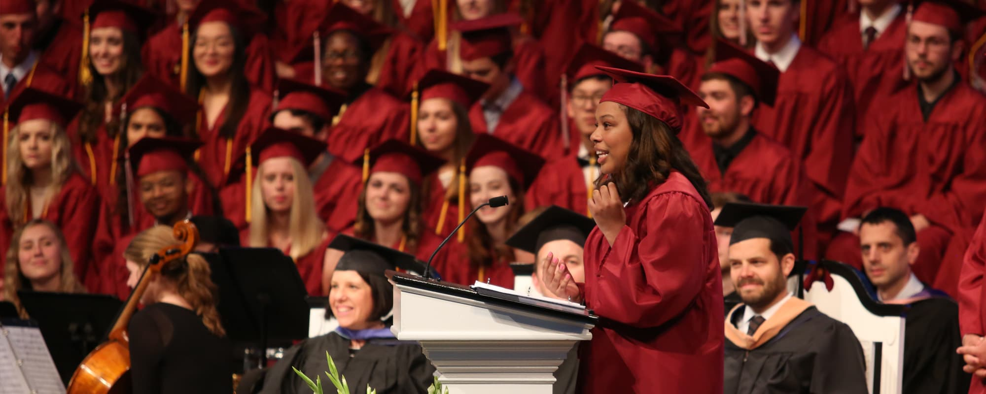 Lelah Pitts Class of 2019 Graduation Speaker