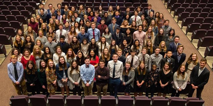 National Honor Society Students 2019