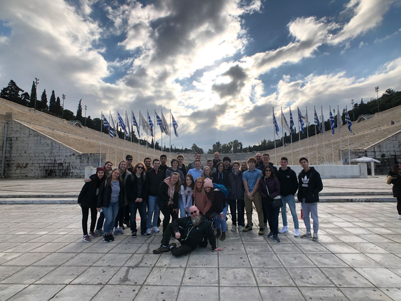 Wheaton Academy Students in Greece