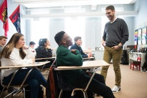 Scott Broman teaching business