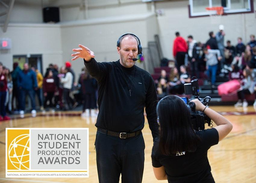 Livestream Team Wins Crystal Pillar Award