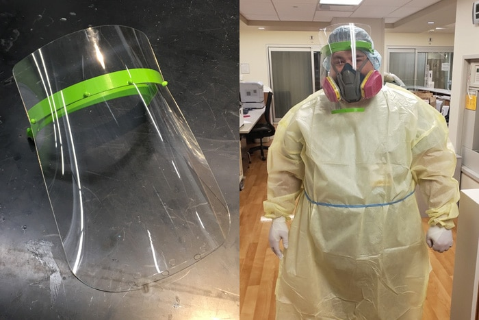 Wheaton Academy Students Produce Life-Saving Masks
