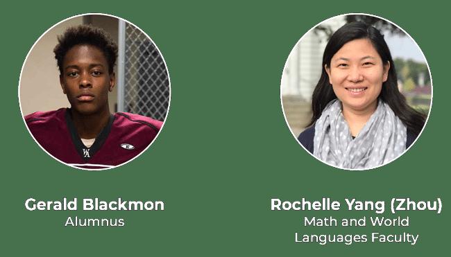 Gerald Blackmon and Rochelle Yang