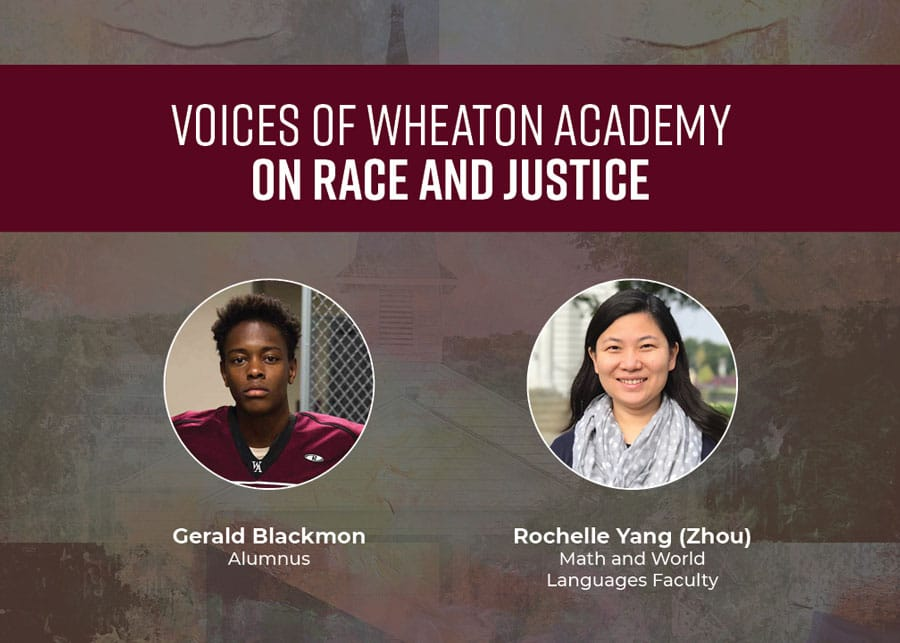 Voices of Wheaton Academy on Race and Justice: Gerald and Rochelle