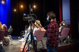 Wheaton Academy livestream team brings chapel to classrooms