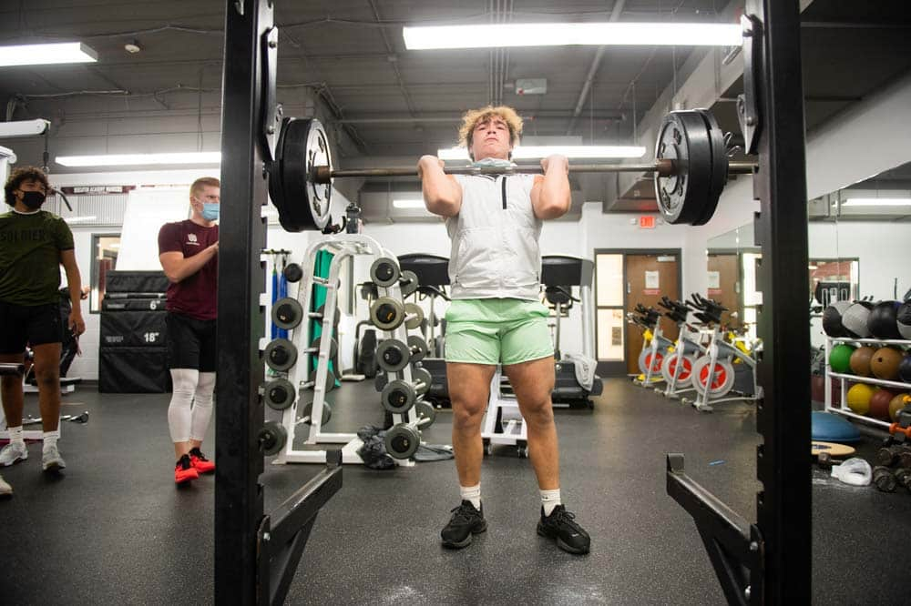Students See Results in the Weight Room