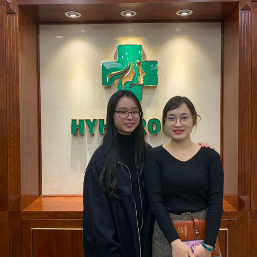 Harlow interns with HYH Group during Winterim 2021