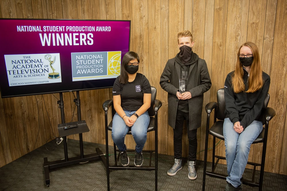 Livestream Team Recognized with National Student Production Award