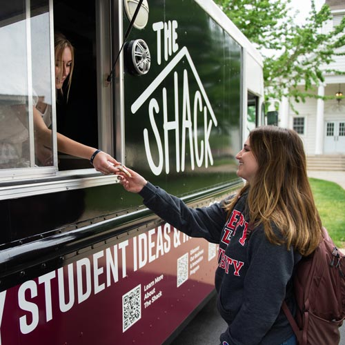 Wheaton Academy student-run business, the Shack